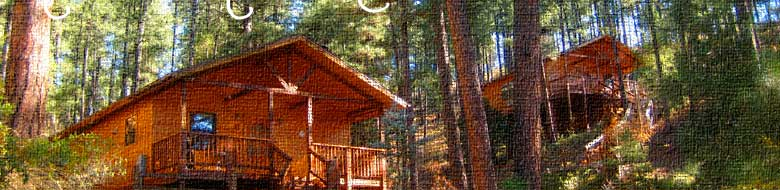 for low pinos and located green mexico site cabins as new nightly altos cottages cabin web in just