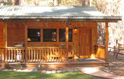 Riverside Cottages Rental Cabin Whirlpool See Thru