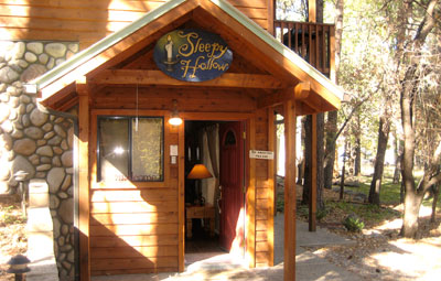 Ruidoso Skies Rental Cabin Sleepy Hollow Romantic