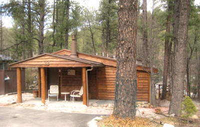 Ruidoso Skies Rental Cabin Singing Pines Romantic